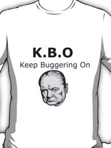Keep Buggering On T-Shirt