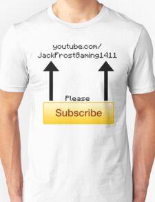 Subscribe (Black) T-Shirt