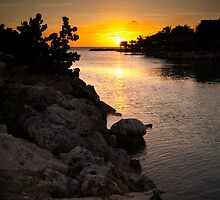 Curacao Sunset by Ralph Goldsmith