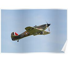 Hawker Hurricane P3886 Poster
