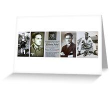 Wilhelm Röhrl ~ my grandfather Greeting Card