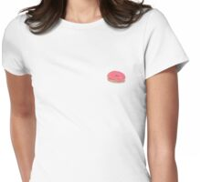 Watercolour donut print Womens Fitted T-Shirt