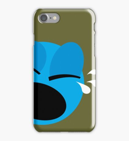 Emotions, Unhappy. iPhone Case/Skin