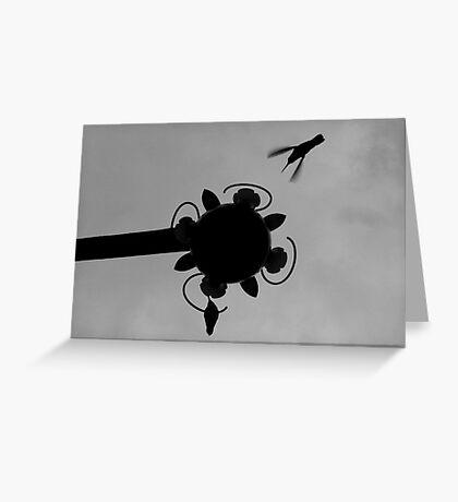 Hummingbirds #1 Greeting Card