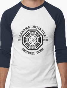 Dharma Initiative Football Team (Black Ver.) T-Shirt