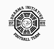 Dharma Initiative Football Team (Black Ver.) Men's Baseball ¾ T-Shirt