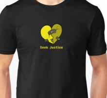 Seek Justice- Yellow Unisex T-Shirt