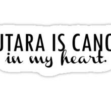 Zutara is canon. Sticker