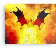 Into The Flames Metal Print