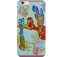angels in the sky iPhone Case/Skin