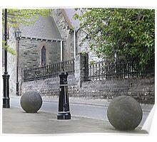 Balls And Bollards Poster