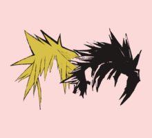Final Fantasy Hair One Piece - Short Sleeve