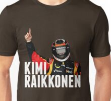 Kimi Raïkkönen - Lotus - Victory Unisex T-Shirt
