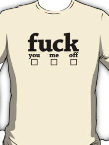 Fuck One (black) T-Shirt