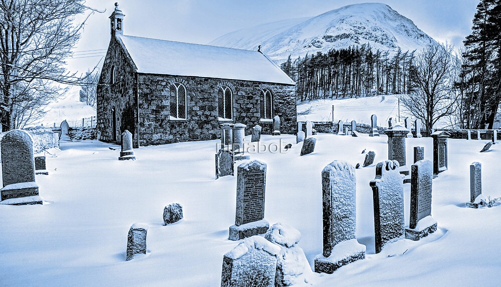 Glenshee Church. by ninjabob