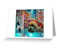 Carnival Moon Greeting Card