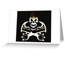 Draven Plunders it all...With Style Greeting Card