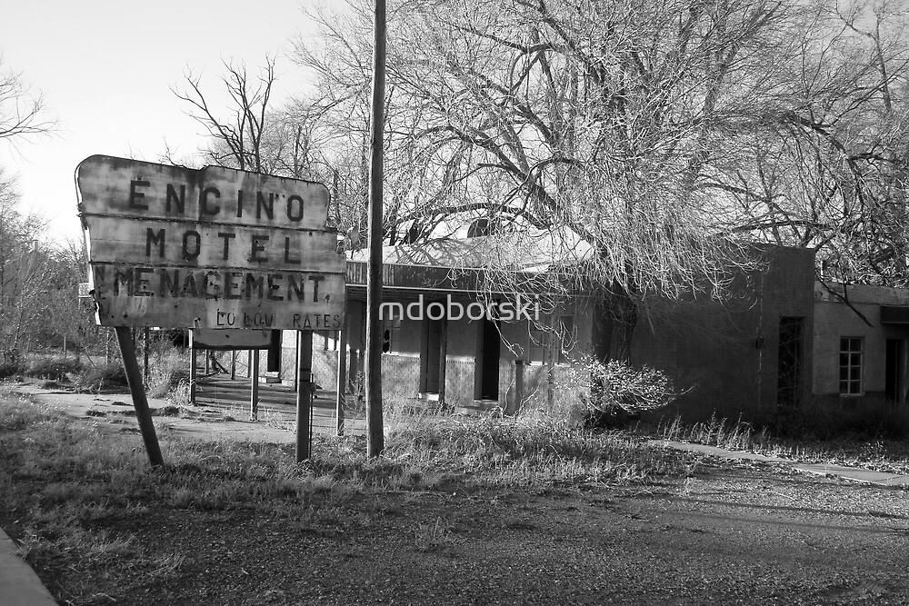 Encino Motel - Encino, New Mexico by mdoborski