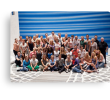 Mamma Mia London Cast Photo Canvas Print