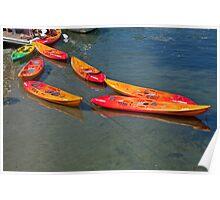 Kayak Chain Poster