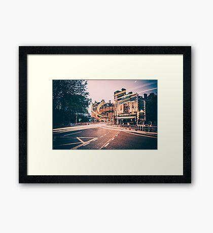 Dame Street, Dublin Framed Print