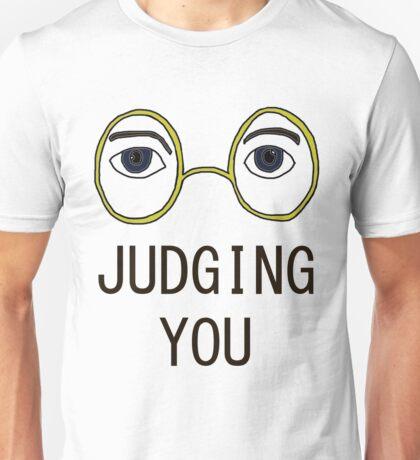 TJ Eckleburg is Judging YOU! Unisex T-Shirt