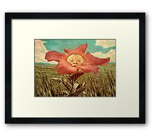 Here Comes The Son. Framed Print