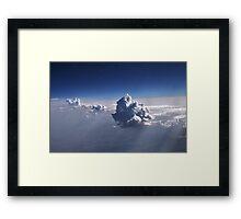Clouds001 Framed Print