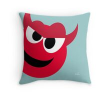 Emotions, Angry. Throw Pillow