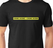 Crime Scene Tape Unisex T-Shirt