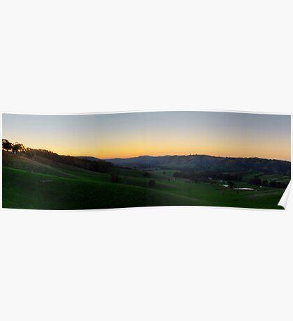 Indigo Valley, Victoria, Australia. Poster