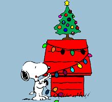 Snoopy Christmas Tree T-Shirt
