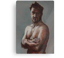 Red Self Canvas Print