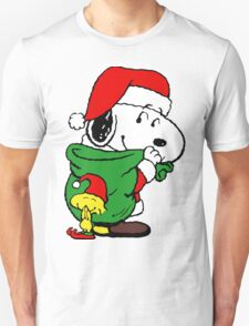 Snoopy Santa Claus T-Shirt
