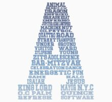 Word Association - Blue Gradient by Sthomas88