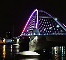 Lowry Avenue Bridge in Pink by shutterbug2010