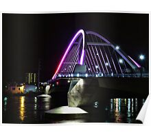 Lowry Avenue Bridge in Pink Poster