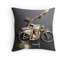 1950's Clubman Racer BC 98613 Throw Pillow