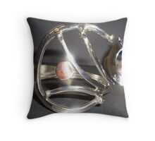 World's Best Spoon and Fork Jewelry 2 Throw Pillow