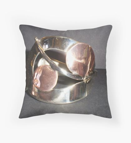 World's Best Spoon and Fork Jewelry Throw Pillow