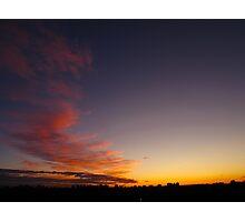 Cloud bolt Photographic Print