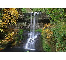 Lower South Falls, Silver Falls State Park, Oregon Photographic Print
