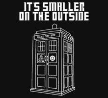 It's Smaller on the Outside TARDIS by Himehimine