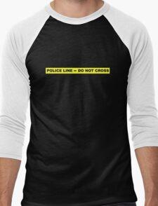 Police Line - Do Not Cross Men's Baseball ¾ T-Shirt