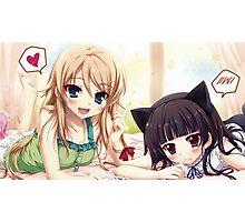 Kawaii Anime Girls ♥  Photographic Print