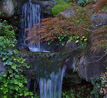 Hakone Falls by KingstonPrints