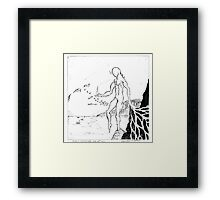 Angels born of Nothingness Framed Print