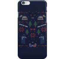 Ugly Doctor Christmas Sweater iPhone Case/Skin
