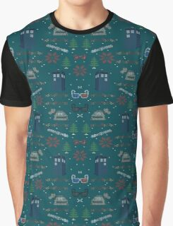 Ugly Doctor Christmas Sweater Graphic T-Shirt