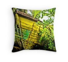 Overgrown.................... The Nasia Throw Pillow